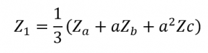 Positive Sequence Impedance