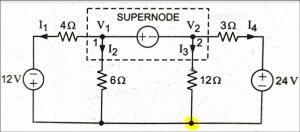 Supernode Analysis