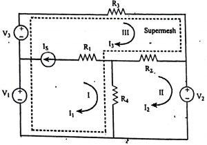 Supermesh Analysis